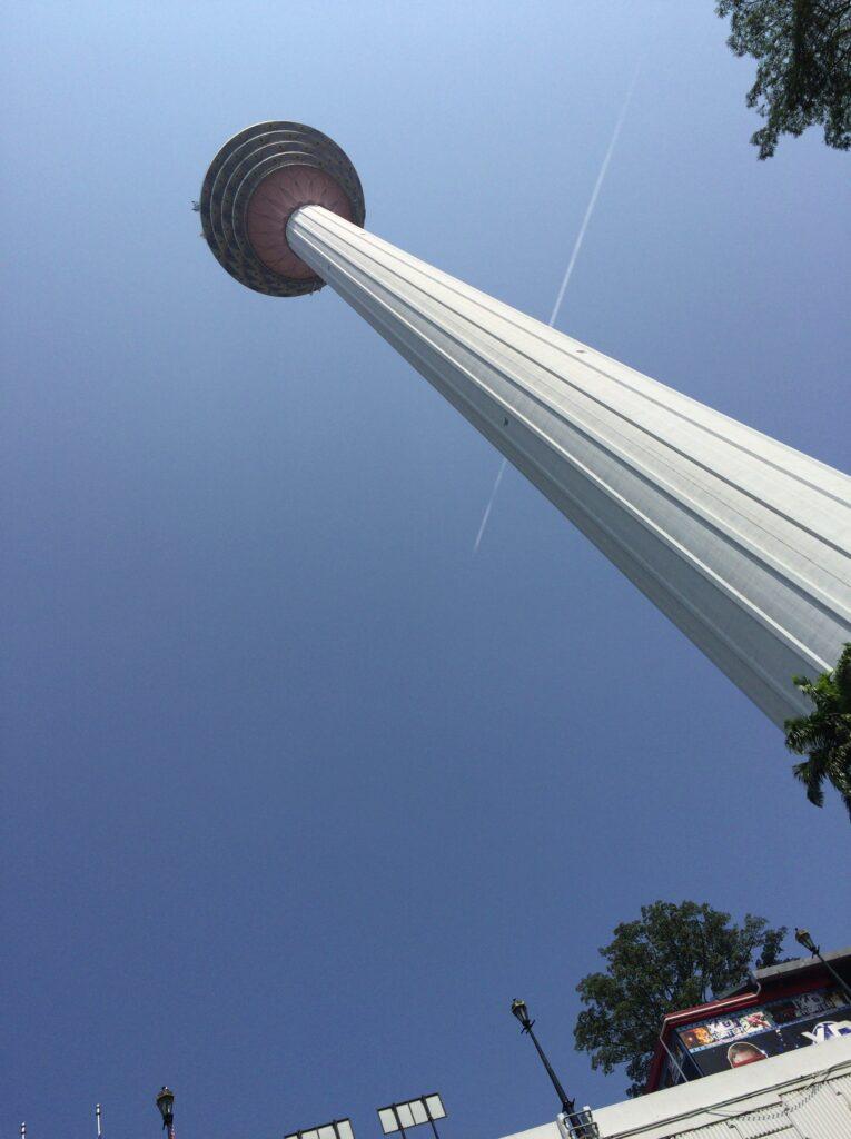 KLタワーが見えてきました