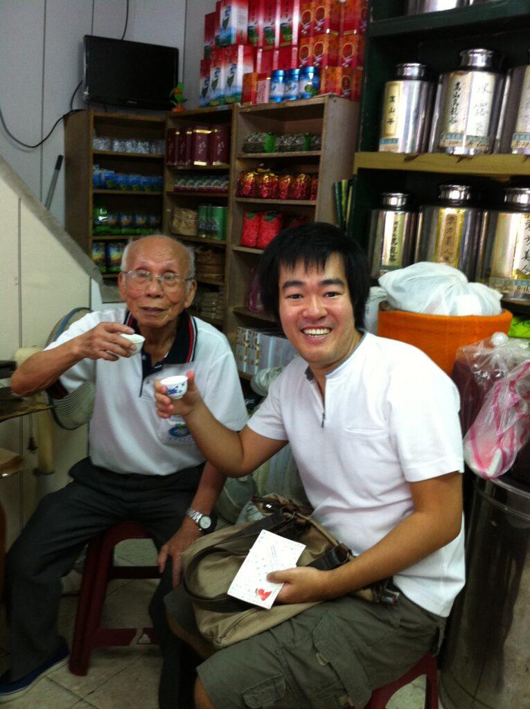台北で出会った日本語を話すおじいさん